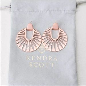 Kendra Scott Didi Sunburst Statement Earrings NWOT